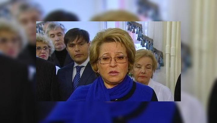 Матвиенко: избивший учительницу не сможет жить в Петербурге