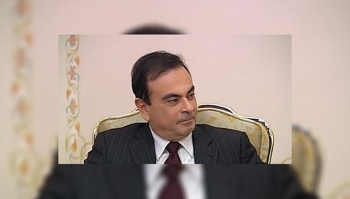 """Президент Renault-Nissan: популярность """"Калины"""" после поездки Путина возросла"""