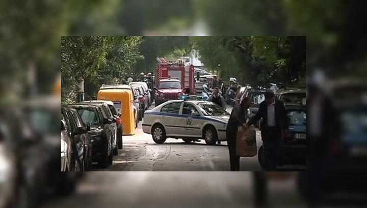 В российское посольство в Афинах тоже направили посылку-бомбу