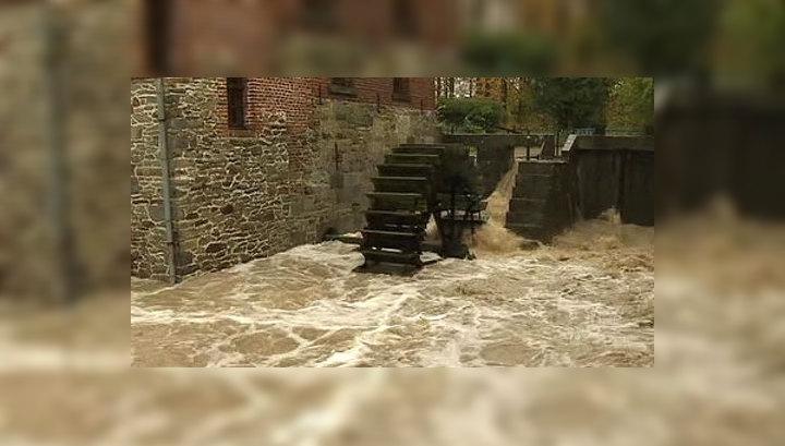 Проливные дожди вызвали наводнения в Бельгии