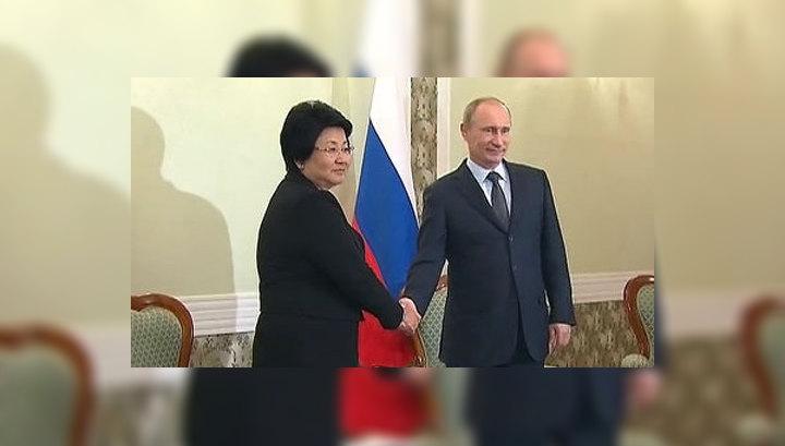 Путин: партнерство России и Киргизии нужно выводить на нормальные деловые рельсы