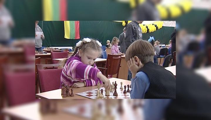 В Светлогорске впервые прошёл детский международный шахматный турнир
