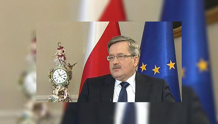 Президент Польши: не следует искать виновников катастрофы