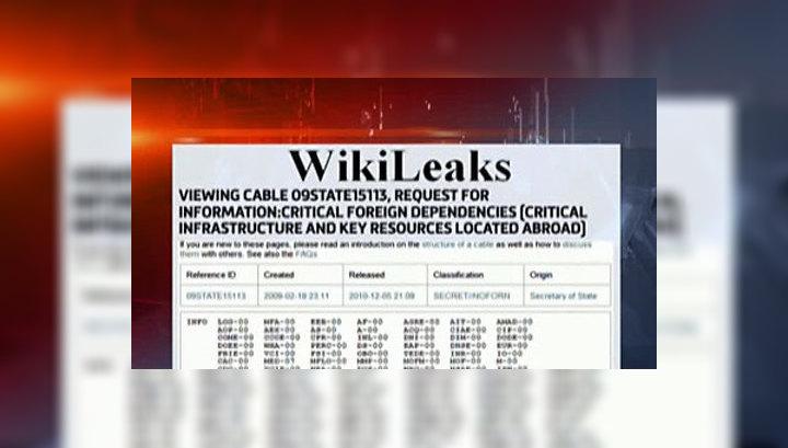 WikiLeaks опубликовал список важных для США объектов в России