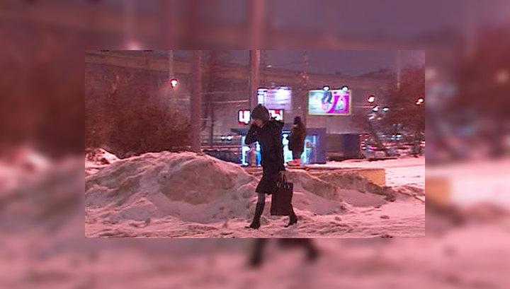 К четвергу в Москве похолодает до минус 17