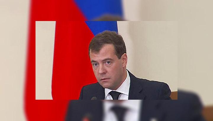 Медведев: маска на митинге - признак участия в банде