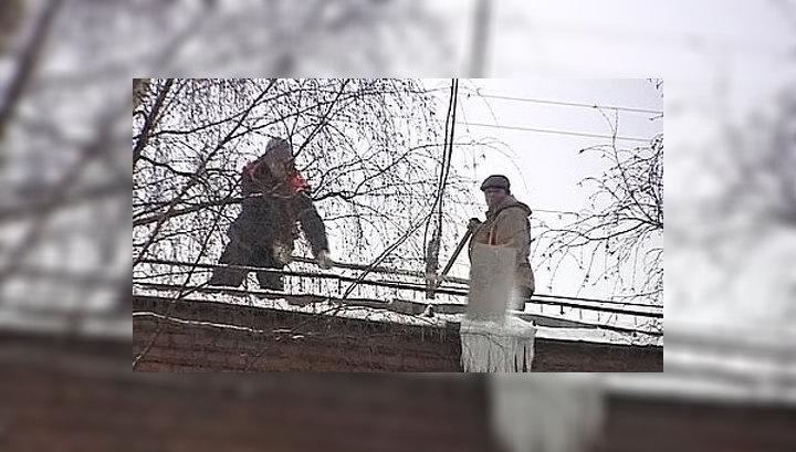 Москву накрыл снежный циклон