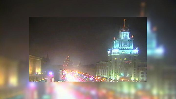 Гололед и туман в Москве угрожают безопасности на дорогах