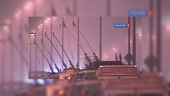 Движение по всем троллейбусным маршрутам Москвы восстановлено