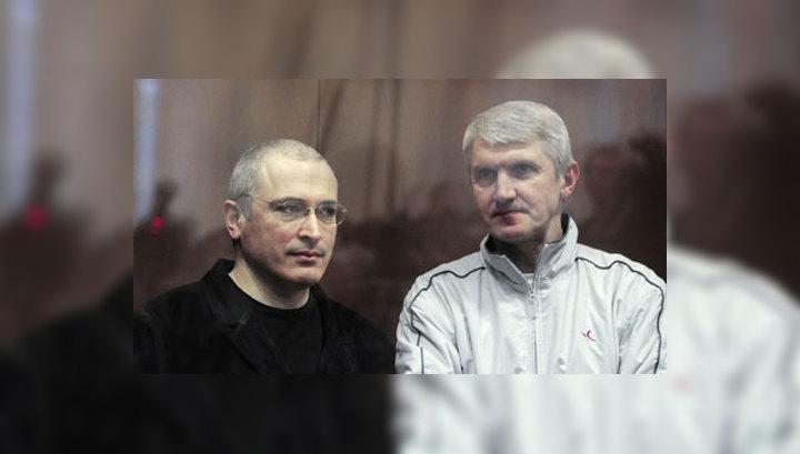 Сын и мать Ходорковского ждут встречи с ним на свободе