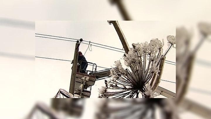 Почти 90 населенных пунктов Подмосковья снова остались без света