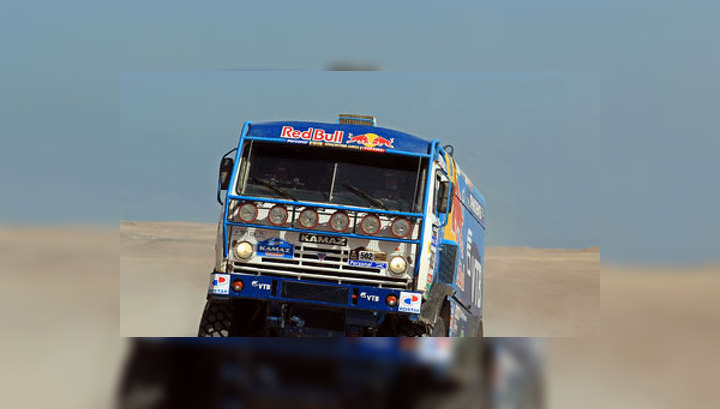 Дакар. Второй этап в зачете грузовиков выиграл Антон Шибалов