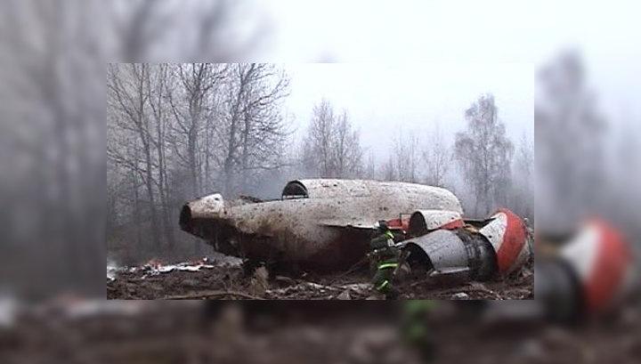Катастрофа под Смоленском: информация о следах взрывчатки не подтверждается