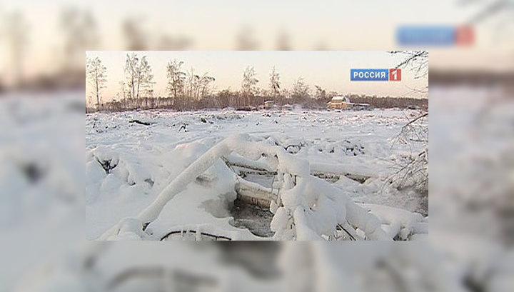 Горячий снег: в Подмосковье продолжают тлеть торфяники