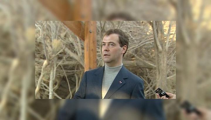 Медведев: Россия по сути уже имеет дипломатические отношения с Палестиной