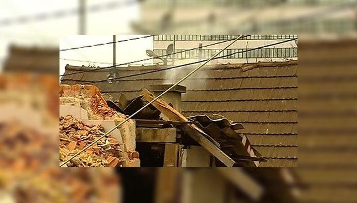 В Хорватии рабочие случайно снесли два дома с жильцами