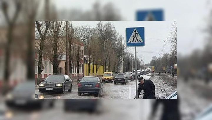 Калининград: на смену наводнению пришел шквалистый ветер