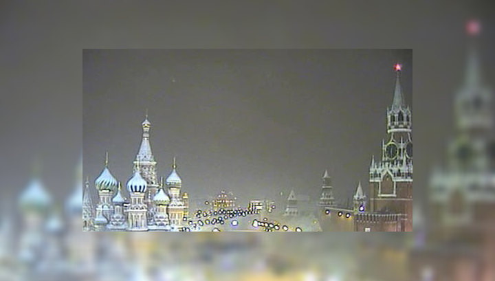 В Москву вернулся снегопад