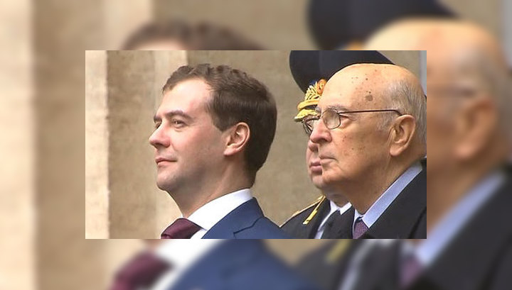 Медведев приедет на празднование 150-летия объединения Италии