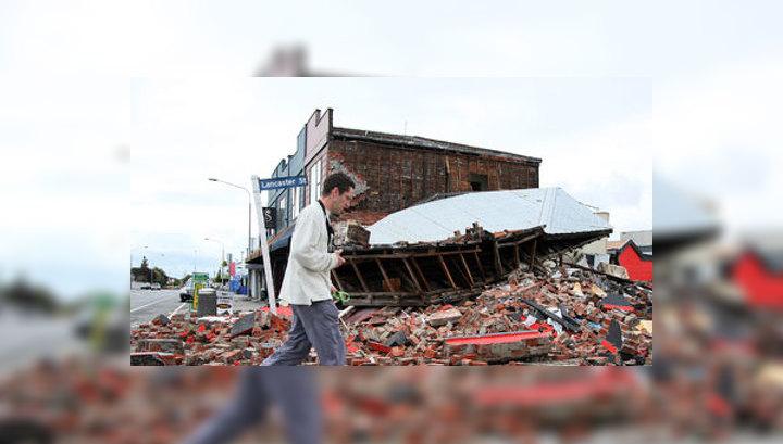 Число жертв землетрясения в Новой Зеландии увеличилось до 113 человек