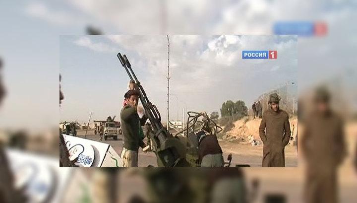 Армия Каддафи наступает на Бенгази
