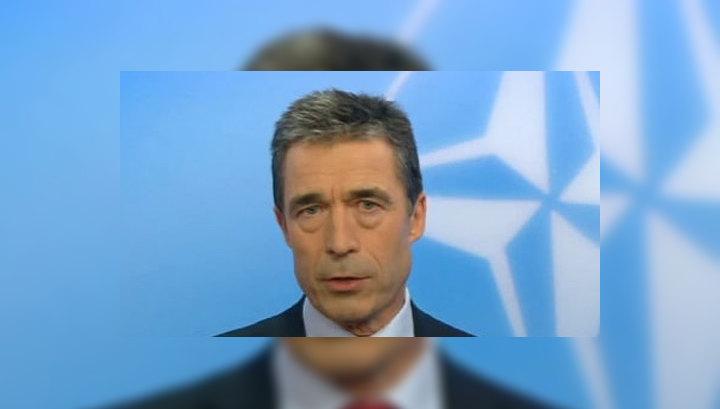 Расмуссен выразил соболезнования в связи с гибелью американских пехотинцев в Афганистане