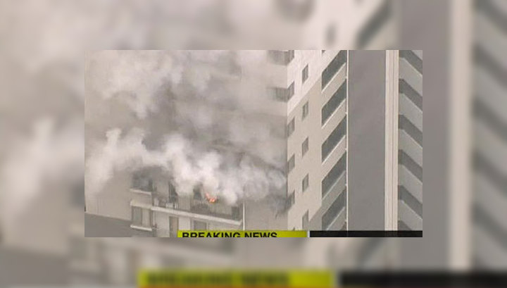 """В Японии горит АЭС """"Онагава"""""""