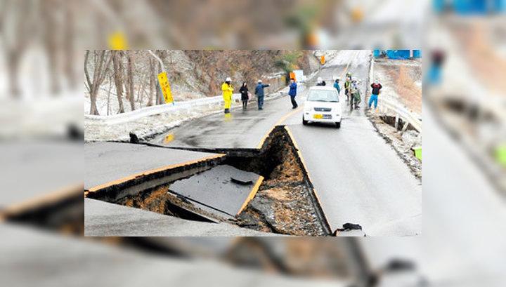 Землетрясение в Японии. Самые страшные кадры