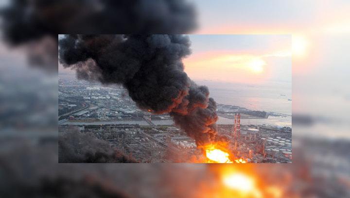На нефтехимическом заводе в Японии произошел взрыв