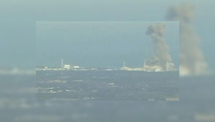 После взрыва на АЭС в Японии произошел крупный выброс радиации