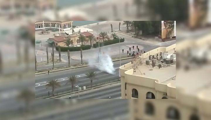При разгоне демонстрации в Бахрейне погибли 5 человек