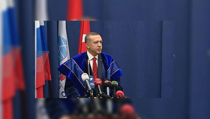 Эрдоган стал почетным доктором МГИМО