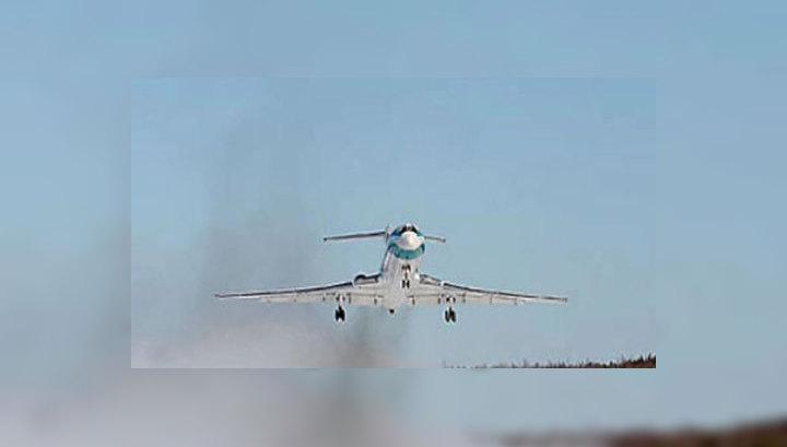 Ту-154М успешно приземлился в Ухте