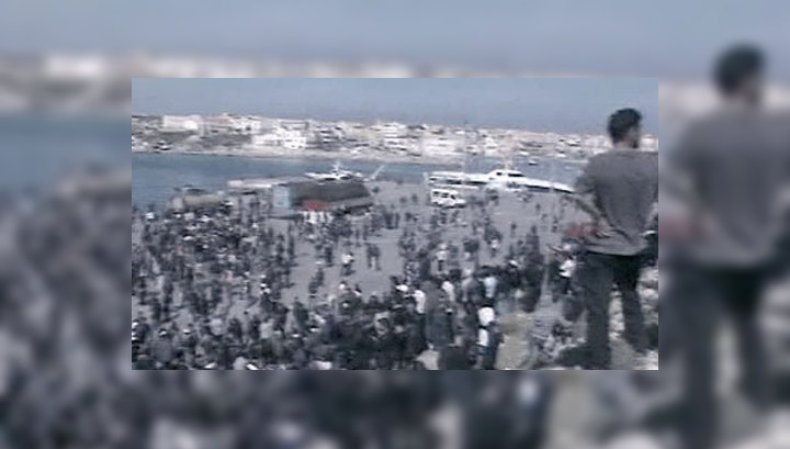 На Лампедузе взбунтовались иммигранты
