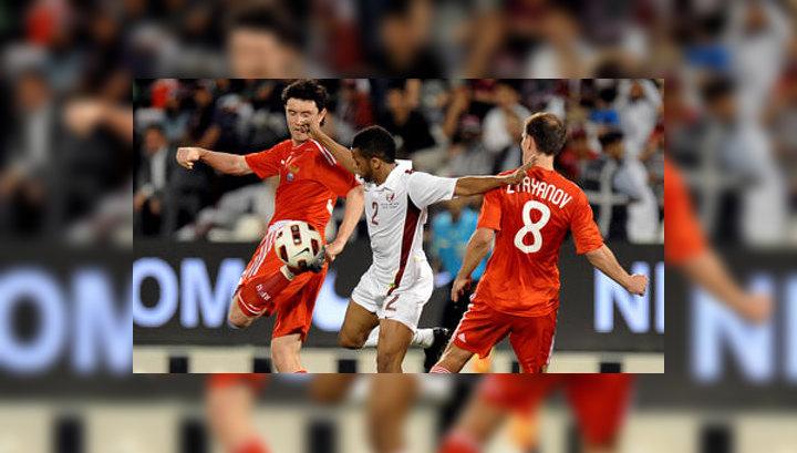 Сборная России довольствовалась ничьей с командой Катара