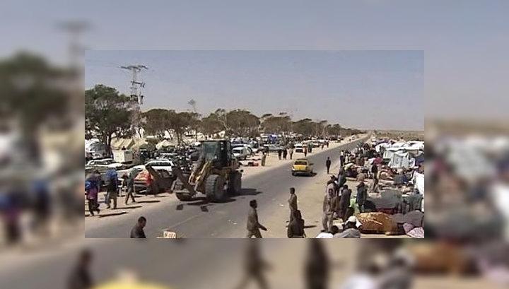 Ливийцы бегут в Тунис