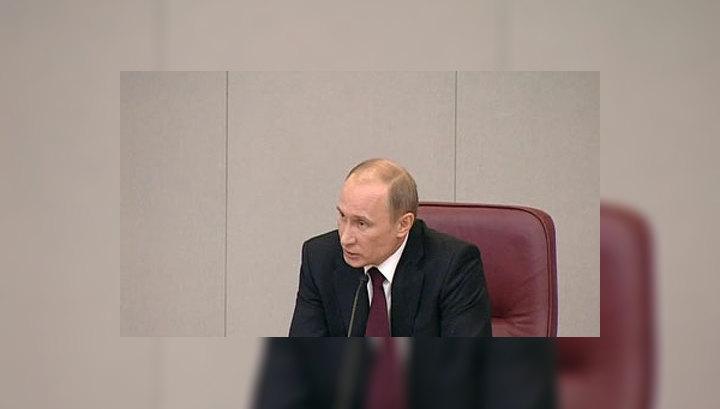 Уже к будущему году российская экономика сможет полностью восстановиться после кризиса. С такого прогноза Владимир Путин начал в Госдуме ежегодный отчёт о деятельности правительства.
