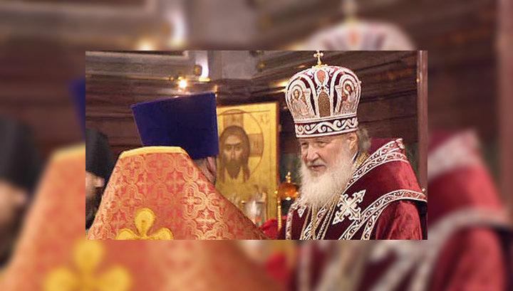 Патриарх Кирилл завершил ночное Пасхальное богослужение