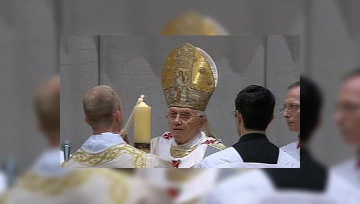 Сотни тысяч верующих съехались на празднование Пасхи в Ватикан