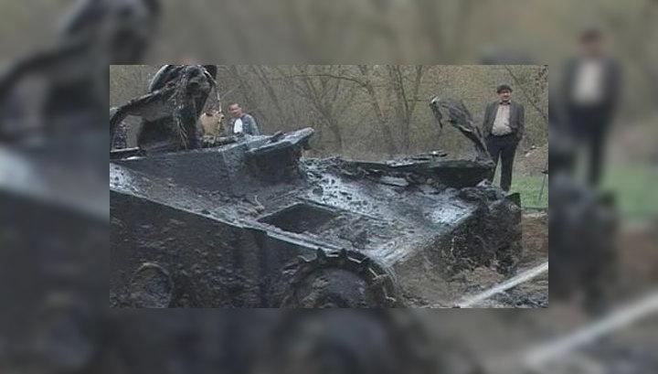 Под Волгоградом нашли редчайший образец боевой техники