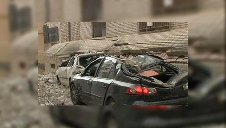 Жители испанского города Лорка приходят в себя после землетрясений