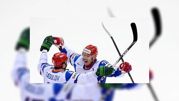 """Хоккей. Полуфинал с финнами - на канале """"Россия-1"""""""
