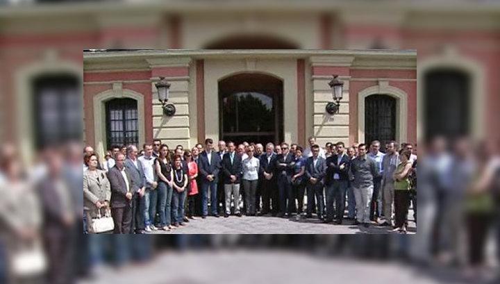 В Испании вспоминали погибших при землетрясении