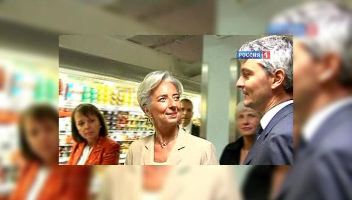 Европа выдвинет Лагард на пост главы МВФ