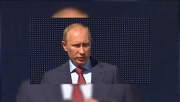 Путин открыл детский гематологический центр