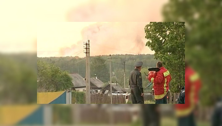 Пожар на арсенале: очевидцы ЧП в шоке