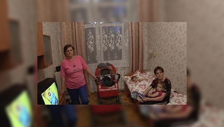 В Пугачево привезли еду и одежду