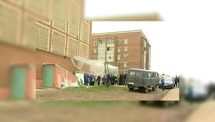 В Агрызе после взрывов на арсенале нет ни одного целого здания