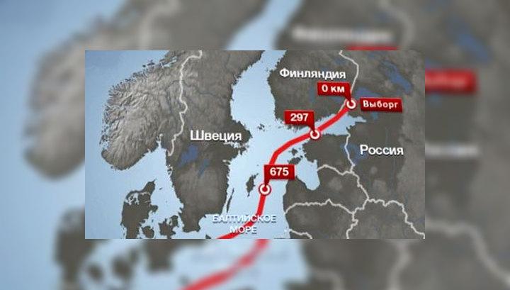 """Сегодня состоится запуск газопровода """"Северный поток"""""""