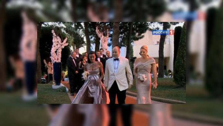 Свадьба развеяла страхи князя Монако